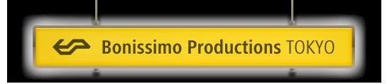 Bonissimo Productions Tokyo | ボニッシモプロダクションズ